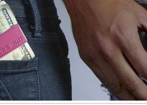 mens money clip card holder