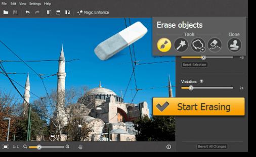 Edit Photos Using Movavi Photo Editor