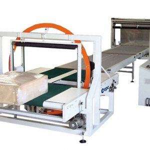 Single Stretch Wrapping Machine and Auto Packing Line Utilized