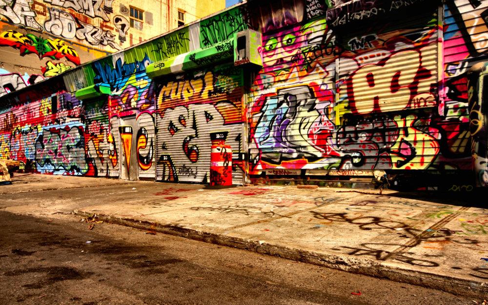 The Many Uses Of Graffiti