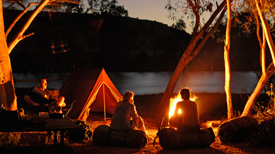 Get The Best Of Camping Experience At Dayna Hardin's Greenwoods Camp