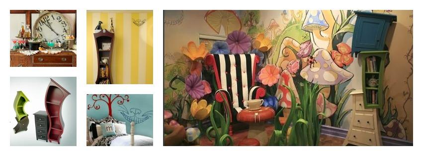 """""""Alice In Wonderland"""" Interiors"""