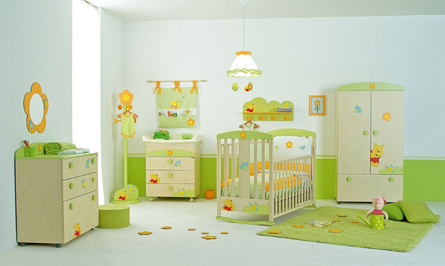 baby room cartoon ideas