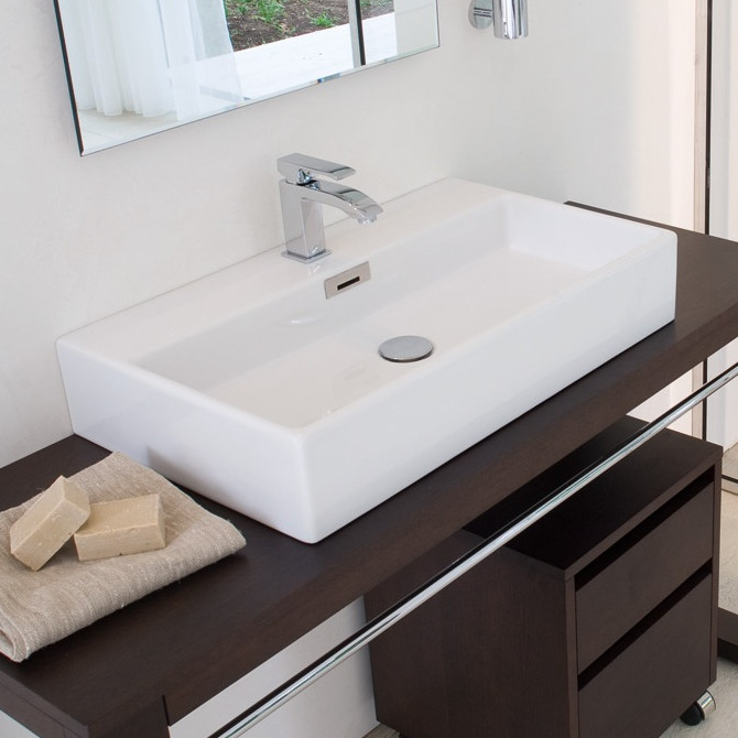 bathroom sink vessel