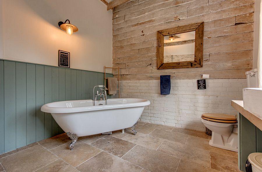 bathroom walls materials