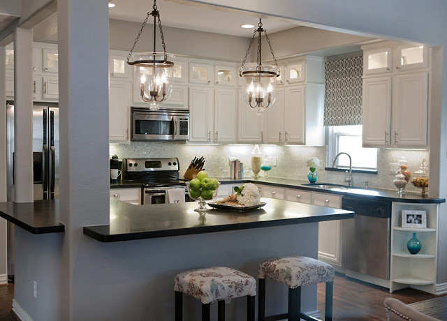 best kitchen remodel ideas complete kitchen transformation with white cabinets a well dressed home on remodelaholic