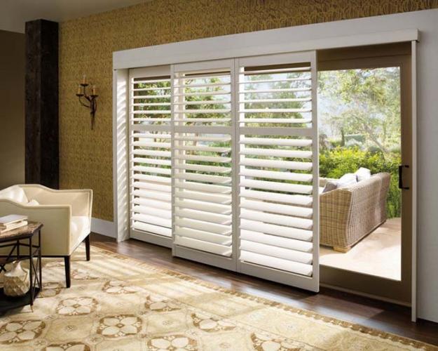 blinds sliding doors