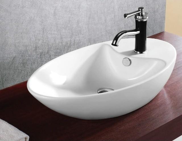 bowl shaped bathroom sink