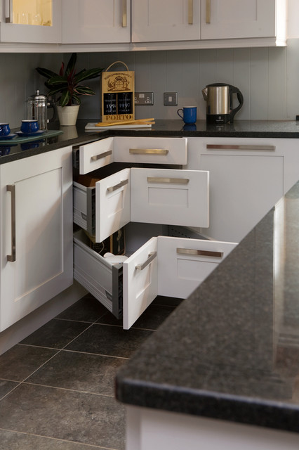 built-in facilities for small kitchens