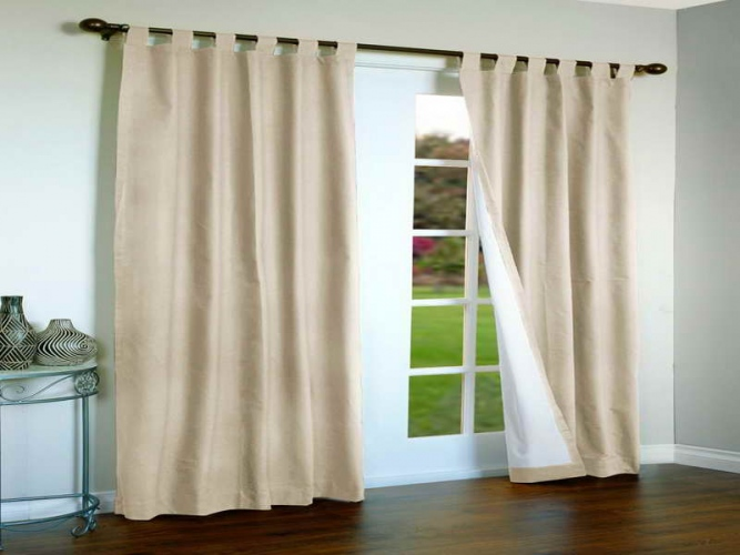 curtains to cover a sliding glass door