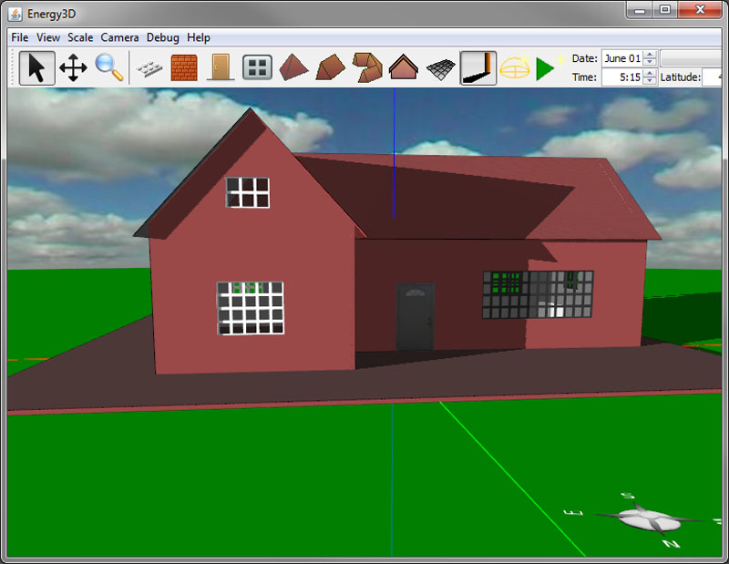 design your own house Energy3D