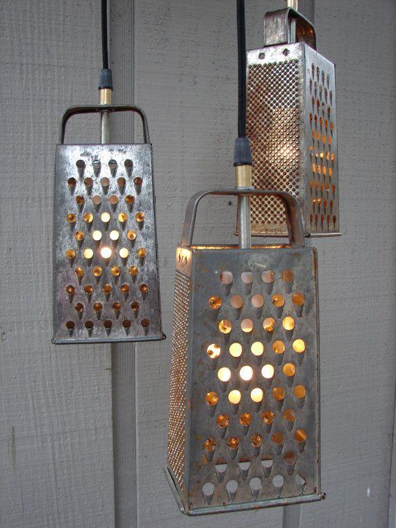 diy unique kitchen lighting fixtures