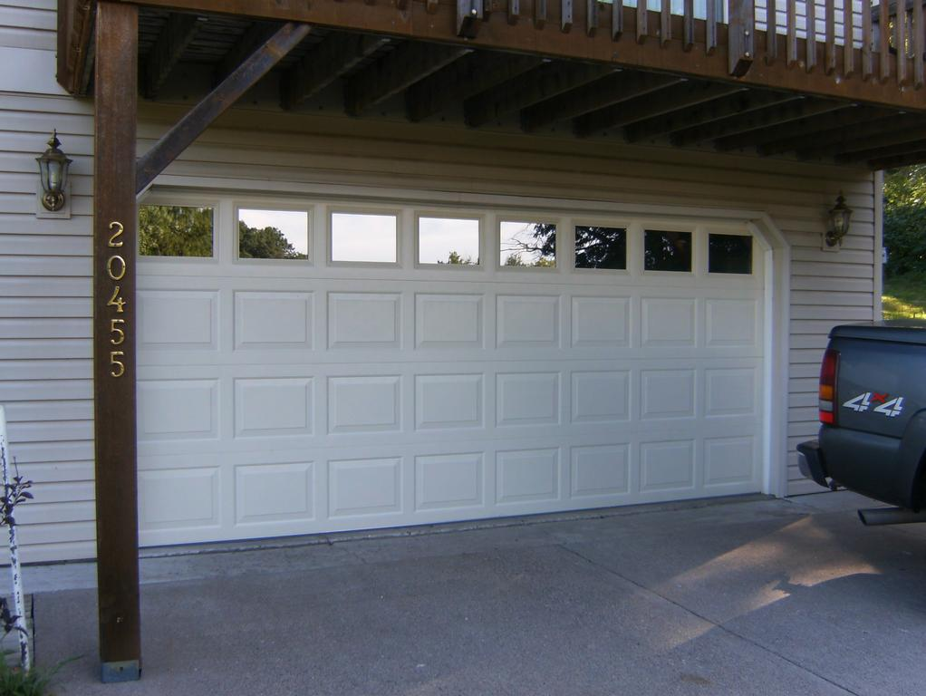 garage door glass windows insulated glass windows