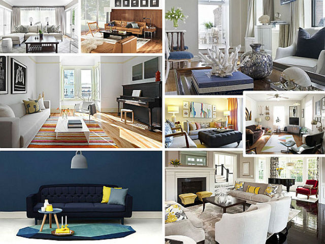 how to decorate a house of living room