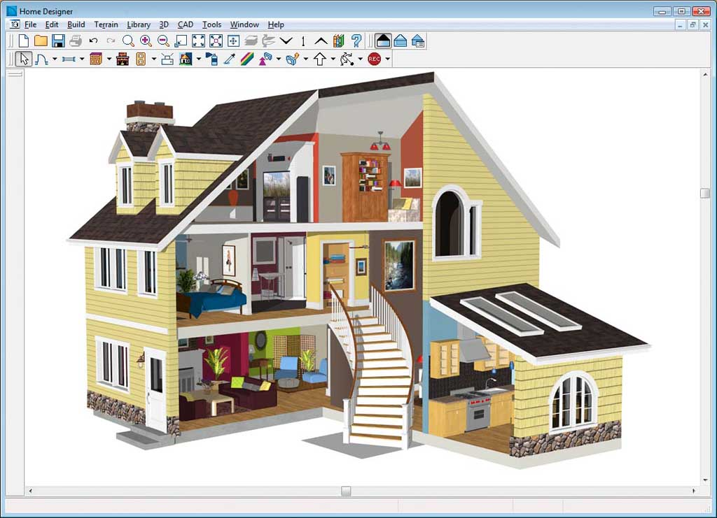 how to design a house with software