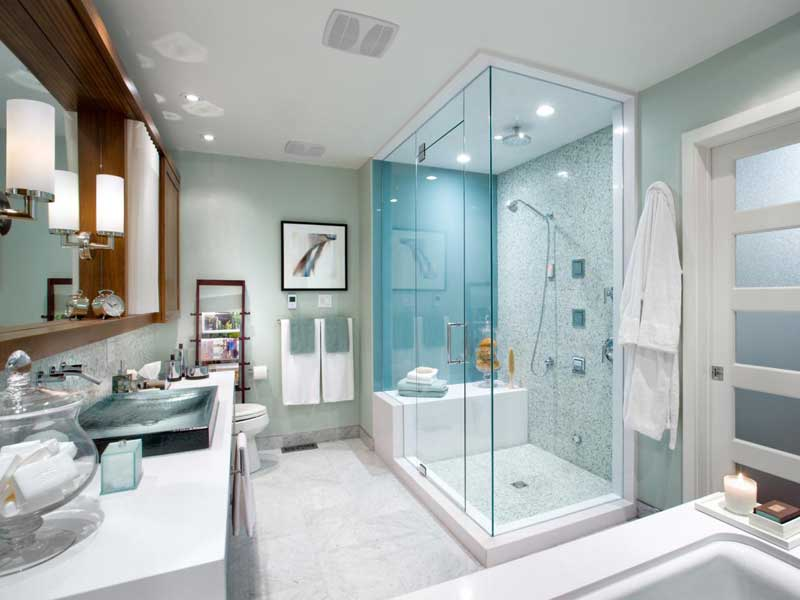 ideas for home decorating bathrooms