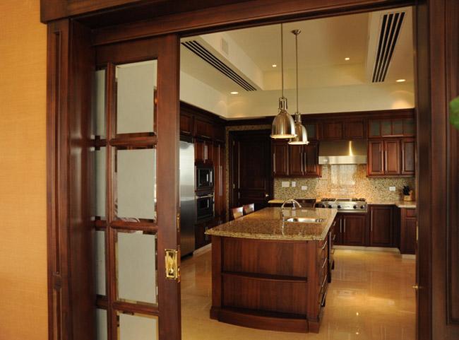 kitchen interior sliding doors