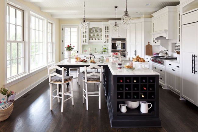kitchen interior ideas decor dining table with round and white chair near kitchen