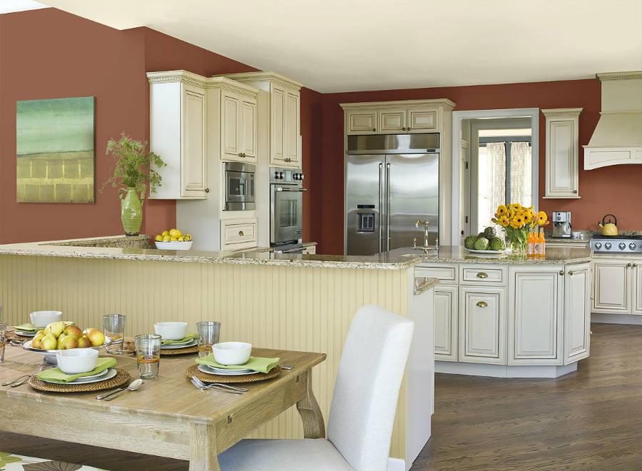 kitchen interior paint ideas