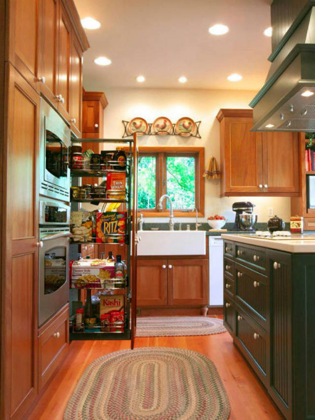 kitchen pantries for small kitchens