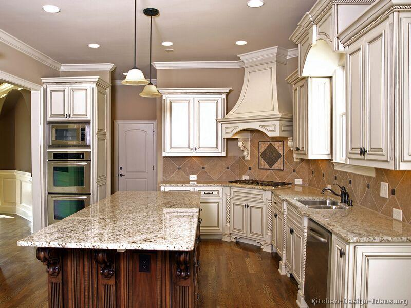 kitchen wall paint colors with cream cabinets