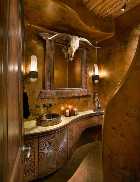 rustic bathroom sinks