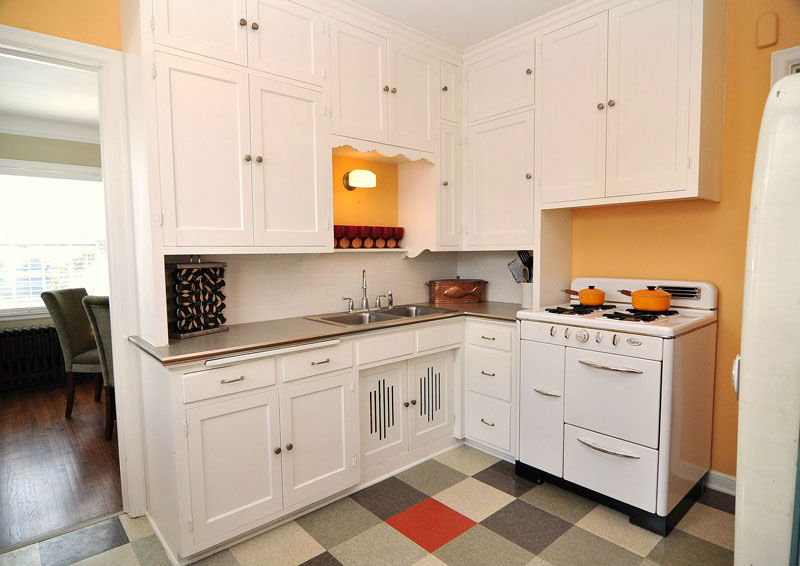 small kitchen cabinetry
