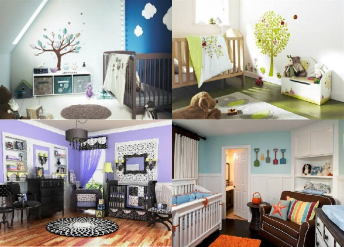 unique baby room ideas