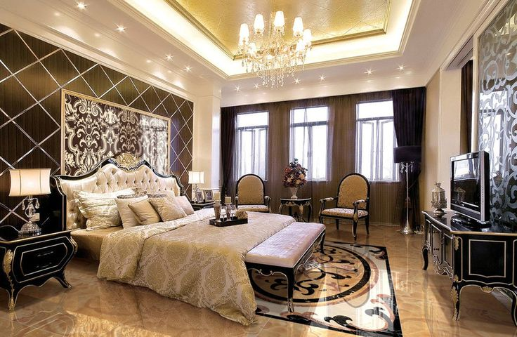 unique luxury bedroom decorating ideas
