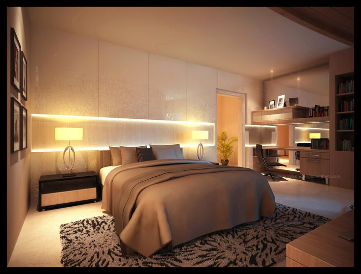 unique luxury bedroom lighting ideas