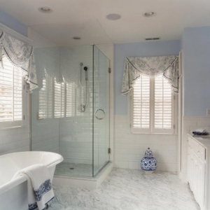 valances for bathroom window