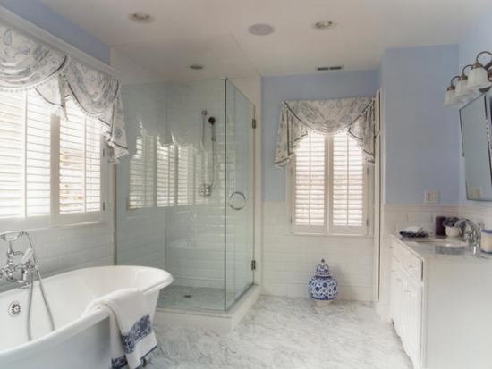 valances for bathroom window