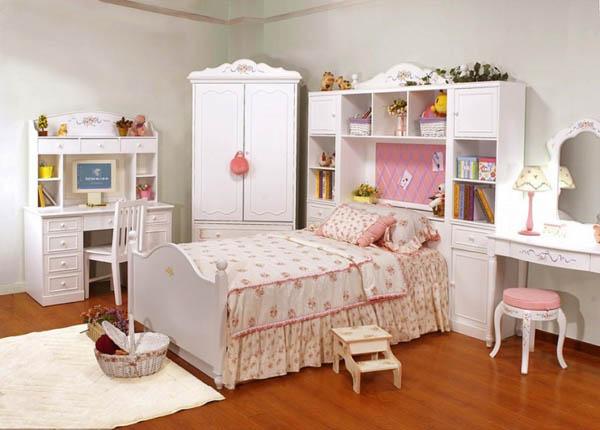 white bedroom furniture for girls