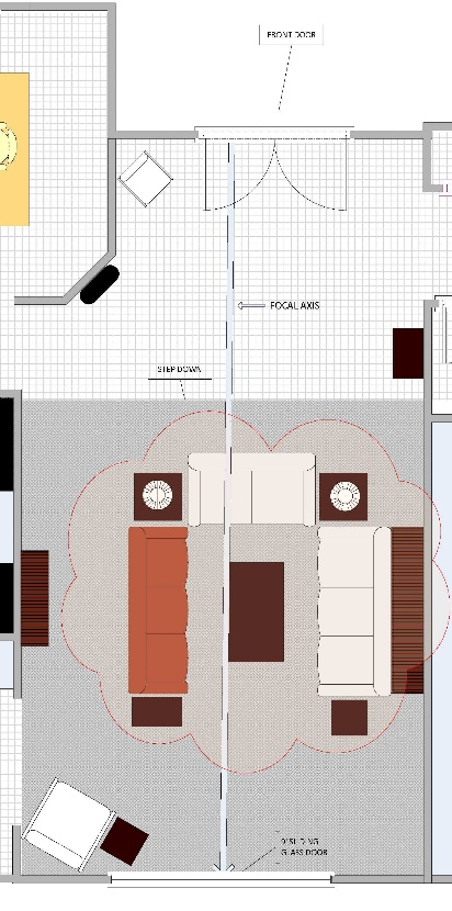 Furniture Layout For A Florida Home