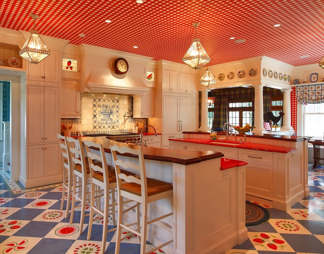 5 Fancy Modern Ceiling Designs For Your Kitchen
