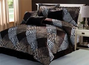 cheetah print comforter
