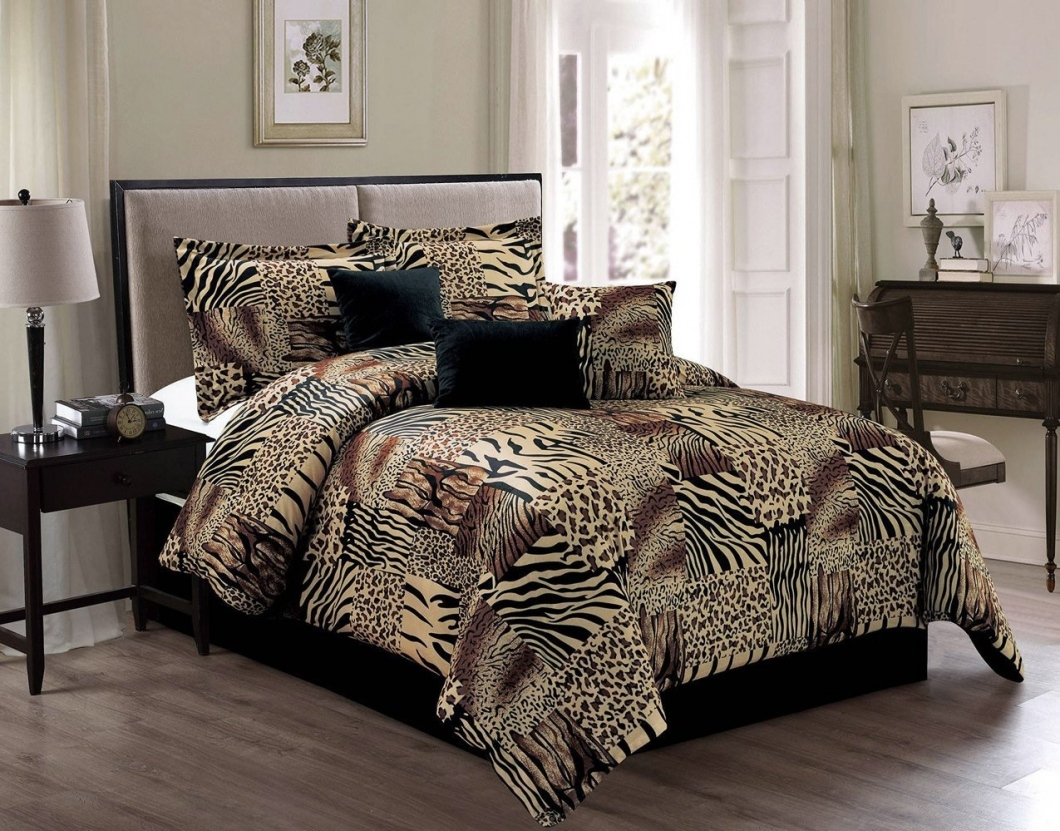 cheetah print comforter1