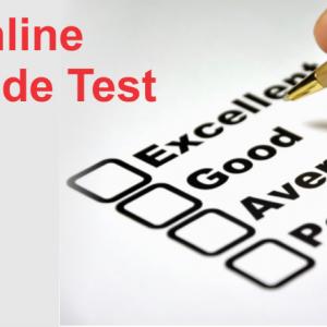 Online Aptitude Test
