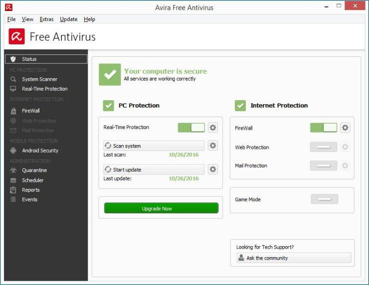 The Top 5 Best Free Antivirus Applications For College Students