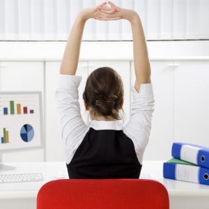 5 Easy 'Deskercise' Routines At Work