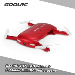 Fly by The GoolRC T37 – A Foldable Mini Quadcopter