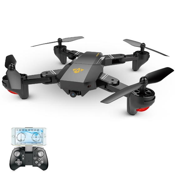VISUO XS809W RC Quadcopter Design, Feature Review