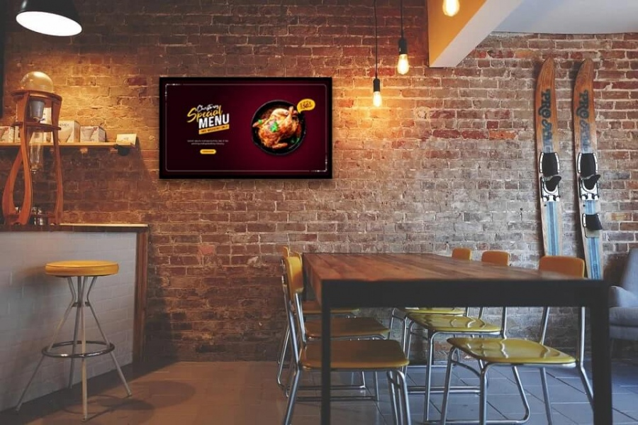 Tips to Create Amazing Digital Signage Content For Your Restaurant